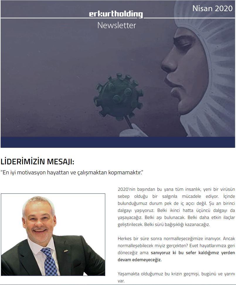 Newsletter Nisan 2020