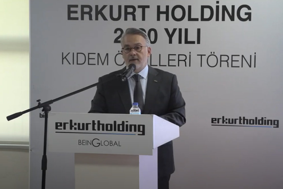 Erkurt Holding's Seniority Awards Ceremony for 2020